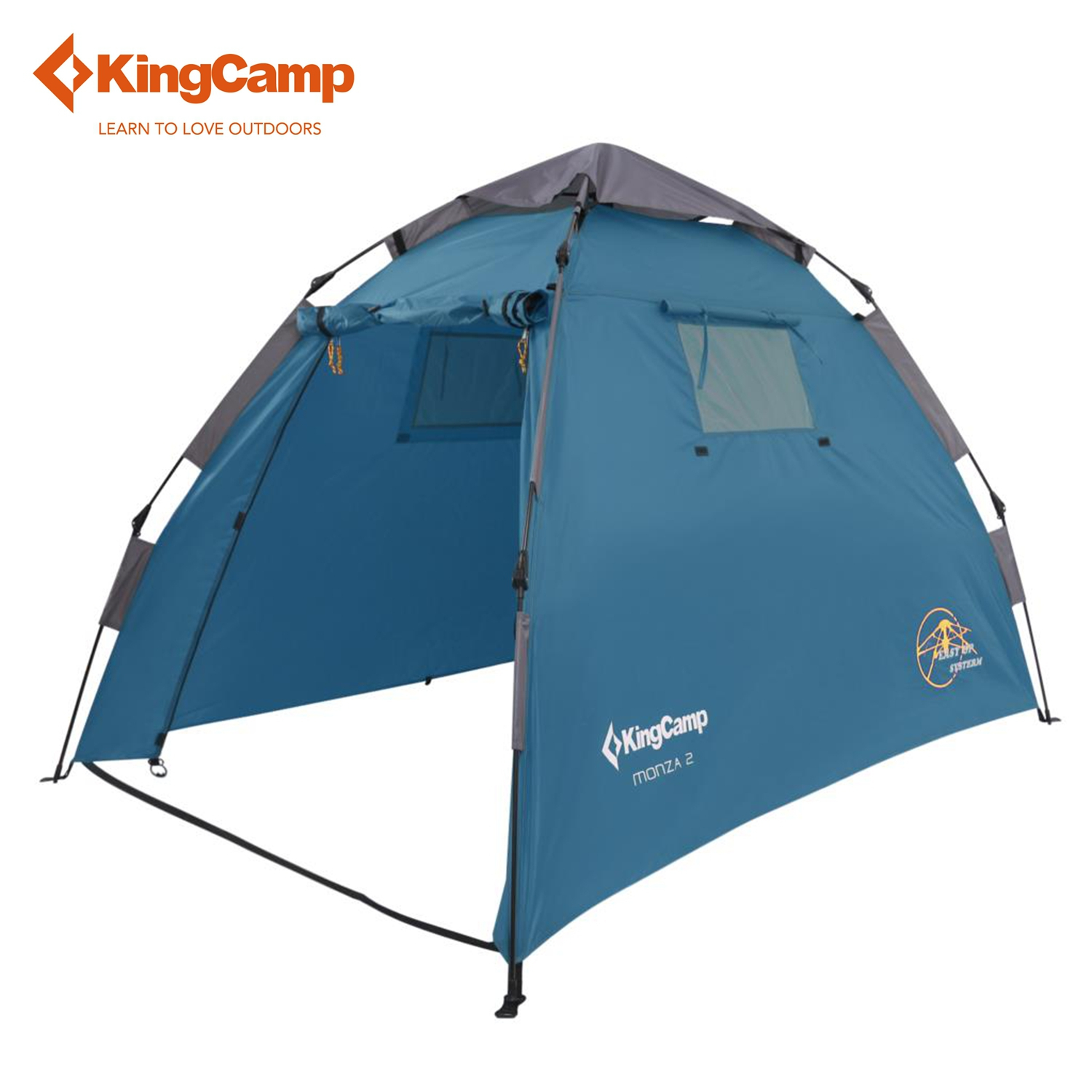 KingCamp MONZA 2-Person 2-Season Easy-up Tent for Camping Portable Colorful Outdoor Tent Blue/Green/Red/Orange<br><br>Aliexpress