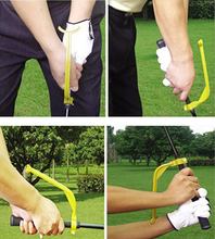 Free Shipping Golf Swing Training Aid Gesture Rectification Golf Swing Trainer Correction Tool