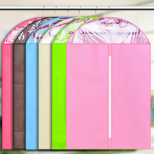 Thickened Nonwoven Transparent Viewing Window Cover Dust Bags Storage Protector Coats Dust Bag Clothing Dust Cover Pouch