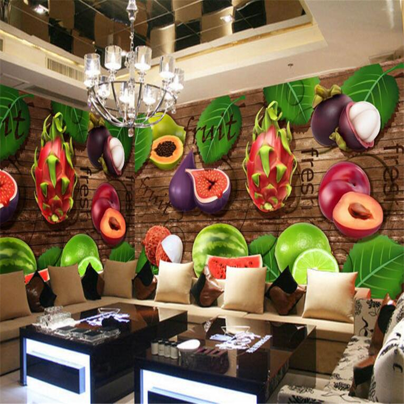 3d wallpaper Fruits Background Wall Decorative Painting 3D Living Room Bedroom Background Mural wallpaper for walls 3 d photo<br><br>Aliexpress