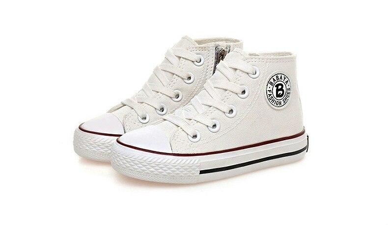 Enfants chaussures pour fille enfants toile chaussures garçons 42