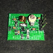 2SC9018 Oscillator Signal Source MP3 FM Radio Transmitter Module 80-120MHz Kits