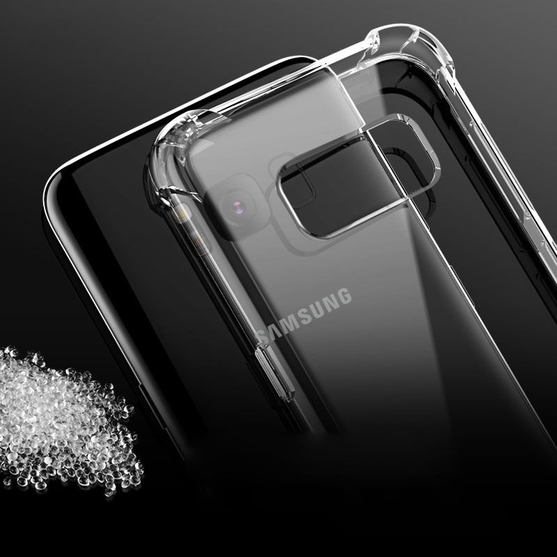Anti knock Silicone Case for Samsung Galaxy  S8 Plus