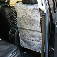Dewtreetali Kick Mats Back Seat Protectors Storage Organizer Pocket Best Protection From Kid's Dirt Waterproof Car Seat Covers(China)