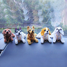Paw Simulation Shaking Head Doll Dog Car Animal 5 Colors Model Dogs Gags & Practical Jokes TM0009