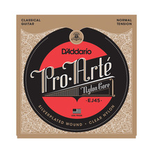 D'addario Daddario Pro Arte Nylon Classical Guitar Strings set, Normal/Hard Tension EJ45 EJ46