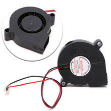 DC 24V Brushless Cooling Turbine Blower Fan 5015 50*62*15mm Durable New -R179 Drop Shipping