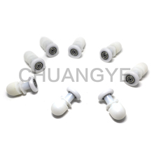 8PCS New Bathroom Steam Shower Door Pulleys Runners Rollers Single Wheels 25mm(China)