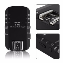 WS-16C 2.4Ghz High Speed Synchro Synchronized Wireless Flash Trigger Transceiver For Canon For YongNuo