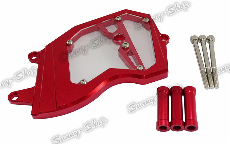 Front Sprocket Cover for KAWASAKI ZX6R 2006-2014 Red B
