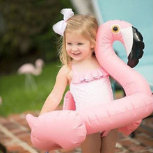 Inflatable Flamingo Circle Air Mattress Swimming Swan Pool Float Swim Ring Seat Boat Raft Summer Water Fun Pool Toys
