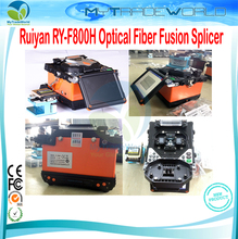 2017 Latest Ruiyan RY-F800H FTTH Fiber Optic Splicing Machine Optical Fiber Fusion Splicer Maquina de Fusao de Fibra Optica