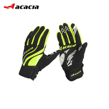 ACACIA Cycling Gloves Full Finger Gel Bike Bicycle Racing Motorcycle Gloves Windproof Phone Touch Screen Sports Gloves 06667(China)