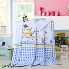 Washable 100% Cotton Summer Quilts 2016 High Quality Fashion Comforters Blankets Thin Bedspreads Twin Queen Size In Stock AG97(China)