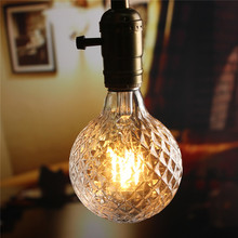 COB LED Light Vintage Edison Bulb E27 4W Pineapple Filament Bulb Pendant Lamp for Bar Cafe Decor Warm White Lighting AC85-265V