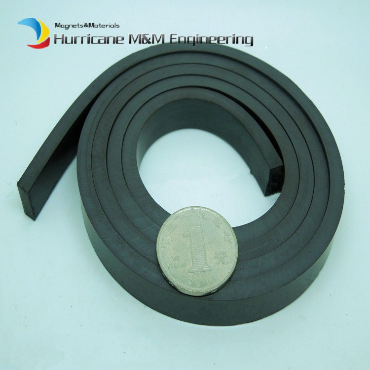 1000mm Plastic Soft magnet for Advertising Teaching frige magnet Width 20x10 mm for Notice Board  Toy magnet<br>