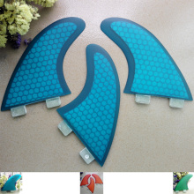 FCS G5 surf fin fiberglass honey comb surf fins/ new arrival FCS surfboard tri fins(China)