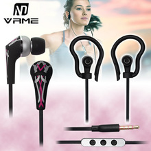 Buy Sport Headphones Wired Earphone Music Headset Stereo Bass Sound Fashion Design Earbuds Running Gym iPhone 6 5s MP3 MP4 for $9.86 in AliExpress store