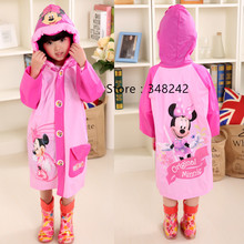 Student Raincoat for Child Children Cartoon Kid Girl boy Cartoon Rain Coat Waterproof Rainwear Poncho Rainsuit Raincoat YY250