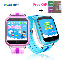 SMARCENT Q750 Q100 GPS Smart Watch with Wifi 1.54'' Touch Sreen Smartwatch SOS Call Location Device Tracker Kid Safe pk Q50 Q90(China)