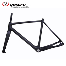 2017 high quality and carbon road frame DI2 compatible carbon road frame BSA or BB30 Racing bicycle with 3K finish(China)