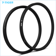 "7-TIGER 1 pair 650B Carbon MTB Bicycle wheels Rims 27.5"" Mountain Bike Carbon wheelset Rims clincher for XC/AM/DH(China)"
