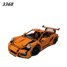 AIBOULLY 2017 New 22726726PCS 3368 technic series 911 GT3 RS Model Building Kits minis Blocks Bricks Compatible 42056 DIY
