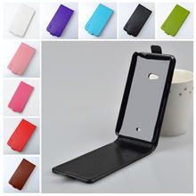 Top quality Flip PU Leather Hard Case For Nokia Lumia 625 Cover Vertical Magnetic Phone Bag J&R Brand 9 colors