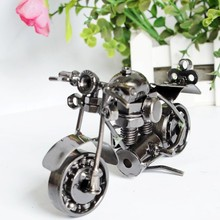 Mini Metal Model Motorcycles Iron Motorbike Models Craft Toy Boys Gifts Kids Toys Wheel can be Moved