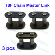 3pcs/pack T8F Chain Spare Master Link For 2 Stroke 43cc 47cc 49cc Mini ATV Quad Dirt Super Pocket Bike Motorcycle