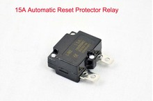 DIY 7A 10A 15A Automatic Reset Relay Fuse Therma Switch Circuit Breaker Current Overload Protector Kids Electric Car Accessories(China)