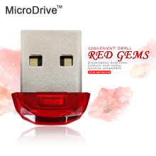 Mini U stick Red pen drive usb flash drive 4G 8G 16G 32G 64G USB 2.0 U disk memory stick super mini Gift external storage(China)