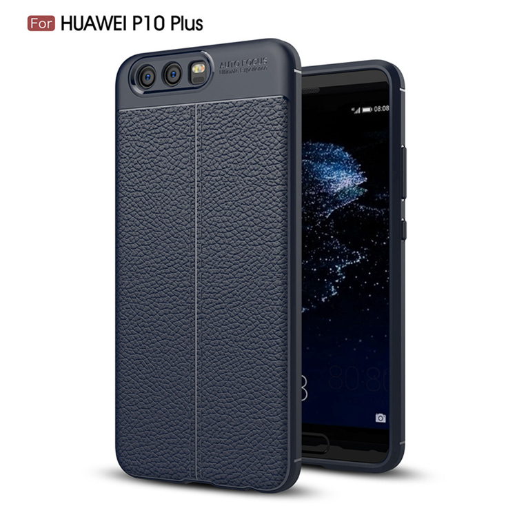 TIKONO Case For Huawei P10 Plus Cover Silicon TPU Luxury Leather Slim Soft Protective Cell Phone Cases for Huawei P10 Plus Case 8
