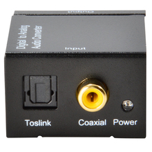 Digital to Analog Audio Converter Adapter Digital Adaptador Optic Coaxial RCA Toslink Signal to Analog Audio Converter RCA(China)