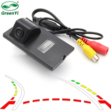 Intelligent Dynamic Trajectory Tracks Rear View Parking Camera For Land Rover Freelander 2 Discovery 3 4 Range Rover Sport(China)