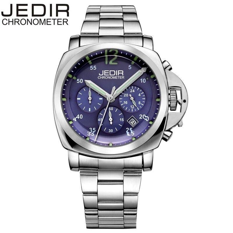 JEDIR 2017 Casual Mens Day Watches Male Quartz-watch Wrist Watch Montre Homme Gift Box Free Ship<br><br>Aliexpress