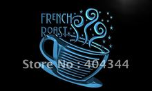 LK936- French Roast Coffee Cup Cafe   LED Neon Light Sign    home decor shop crafts
