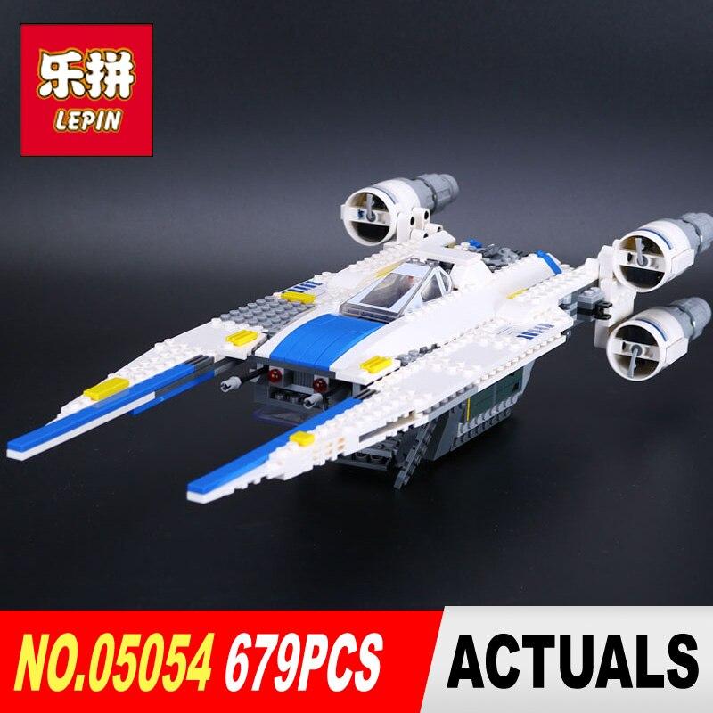 679pcs Lepin 05054 Star model Wars the U wing fighter jets Building Blocks Bricks Model Kids Toys legoed 75155 to Children Gifts<br>