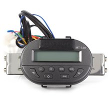 Universal Motorcycle Handlebar Radio Audio Mp3 Speaker Support SD Remote Control LCD Display Water Resistant Anti-theft