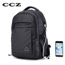 CCZ 2017 New Fashion Backpack Nylon Shoulders Bag Men Bag School Bag For Travelling 14 inch Laptop Backpack Rucksack BK8018