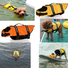 Dog Life Vest Safety Boating Reflective Preserver Pet Float Essential Lightweight Comfortable Life Vest Safety Clothes For Dogs