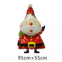 New Big Christmas foil balloons merry Christmas balloons helium inflatable Santa Claus decoration Large Red toys Xmas kids gifts