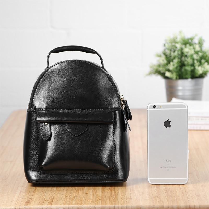 2017 Famous Brand Leather Women Bagpack Top Quality Korean Daypack School Bag Retro Female Mini Travel Backpack knapsack<br><br>Aliexpress