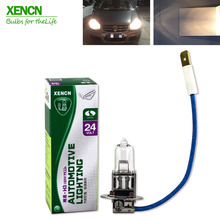 XENCN H3 Pk22s 24v100W Clear Series Original Line Car Halogen Fog Light Standard OEM Quality truck Lamp Free Shipping 2PCS