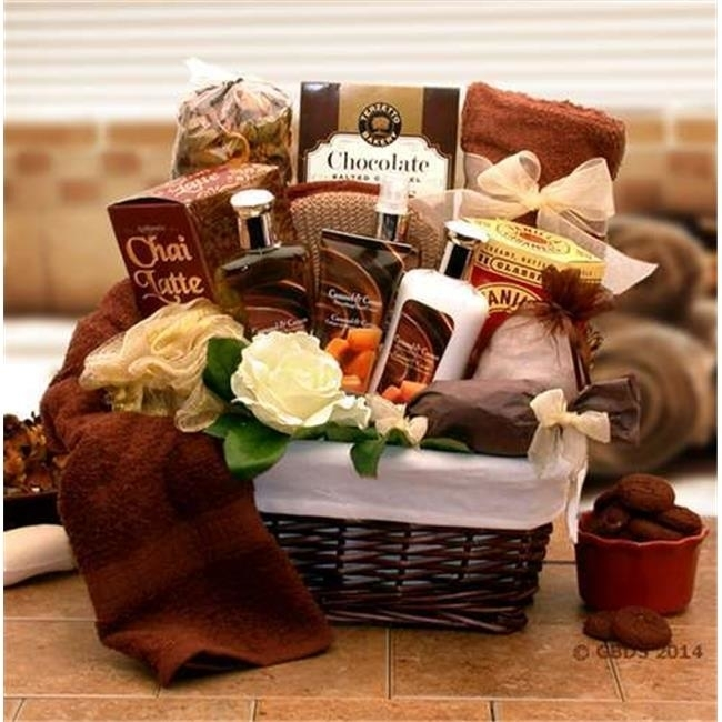 Gift Basket Drop Shipping 8413602 Caramel Indulgence Spa Relaxation Gift Hamper