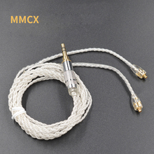 New MMCX Cable Silver Plating Cable Upgraded Cable Replacement Cable Use For Shure SE535 SE846 UE900 DZ7 DZ9 DZX LZ A4(China)