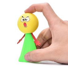 10PCS Funny Fly Jump Elf Children Strange Toy Bounce Kids Babies Educational Learning Toys Gifts Wholesale