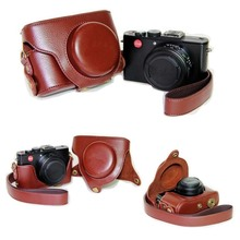 Black/Brown/Coffe/Pink/Purple Camera Case Bag Leather Case Cover for Leica D-LUX6 D-LUX5 D-LUX4