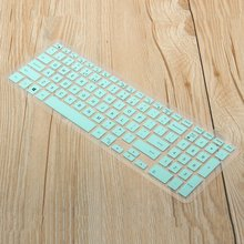 Silicone Computer Keyboard Protector Skin Notebook Film 15.6inch Laptop Keyboard Cover For Dell for Inspiron 15 5000 Series(China)