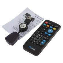 IR Wireless Controller PC Computer Remote Control USB Media Center fly Mouse & USB Receiver For Windows 7 XP VISTA Hot Sale(China)
